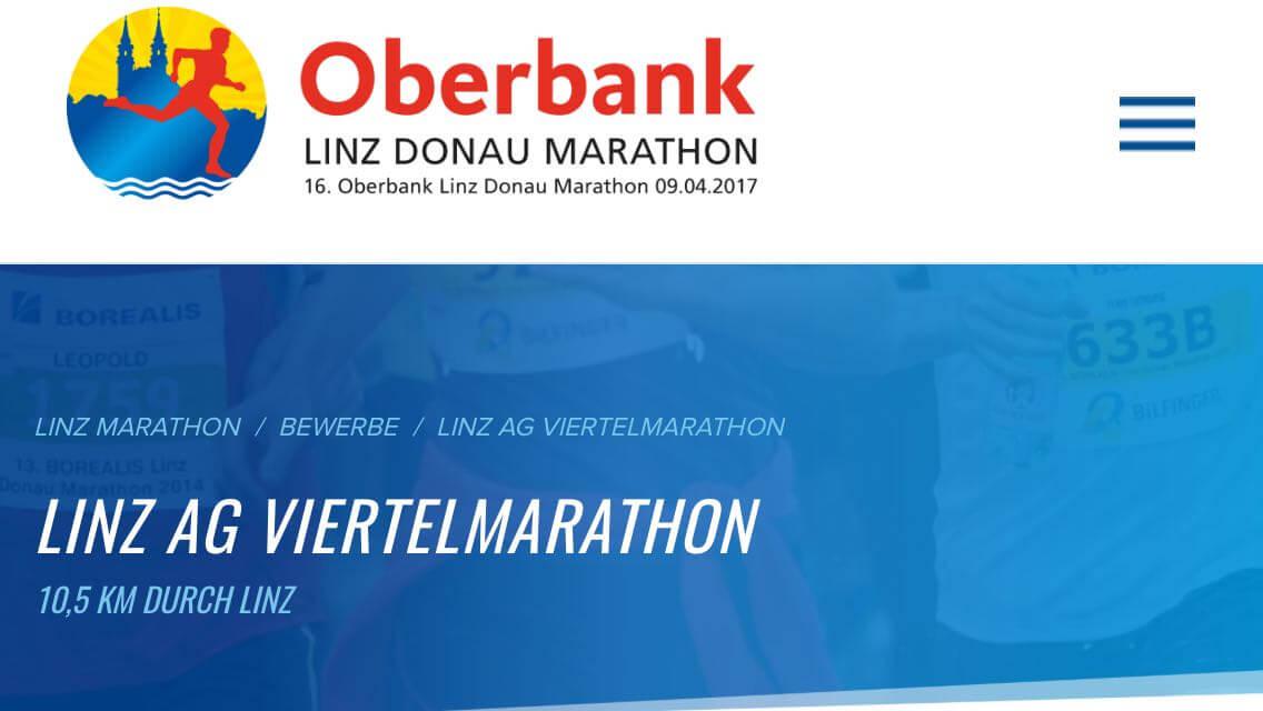 Marathon Anmeldung