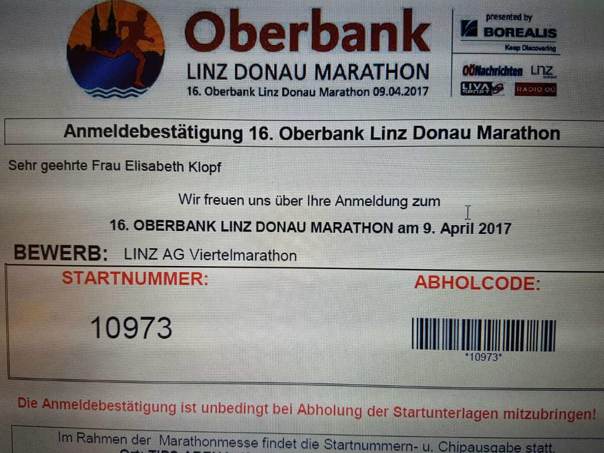Marathon Anmeldung | ich-verstehe-es.com